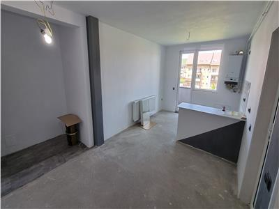 Apartament 2 camera partial finisat imobil nou zona Porii!