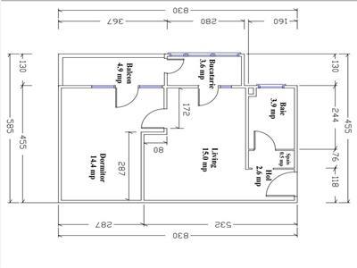 Apartament 2 camere parcare zona Valea Garboului!