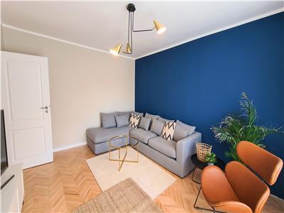 Apartament 3 camere LUX, 80mp,balcon,2 parcari, Marasti, zona Dorobantilor