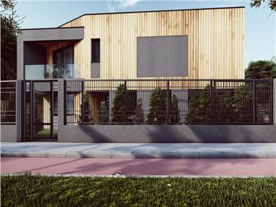 Casa cu design deosebit  si 500 mp teren zona Borhanci