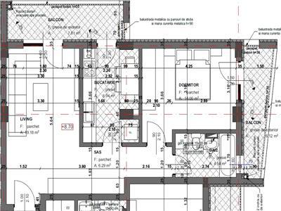 Comision 0%! Apartament semifinisat 2 camere decomandate parcare lift zona Fagului!