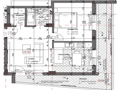 Comision 0%. Apartament semifinisat, 2 camere, lift, zona Fagului