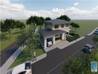 Casa individuala cu utilitati si asfalt
