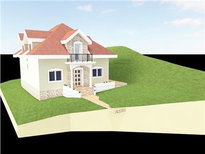 Casa individuala cu utilitati