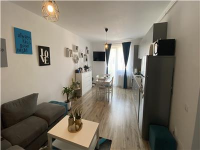 Apartament 2 camere, modern, mobilat si utilat complet, zona Cetatii