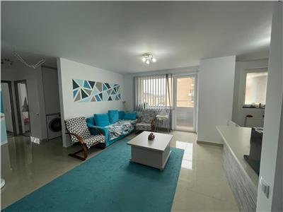 Apartament 3 camere, 75 mp, parcare, mobilat modern, bloc nou, zona strazii Stejarului