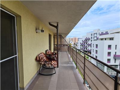 EXCLUSIVITATE Apartament 2 camere dec. 55mp,terasa, Gheorgheni, zona FSEGA