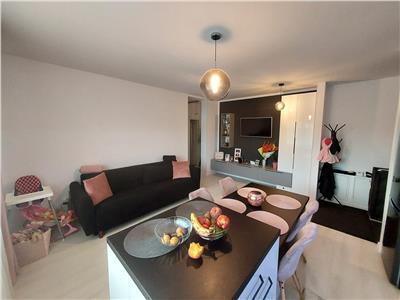 Apartament 2 camere modern mobilat si utiliat zona Teilor