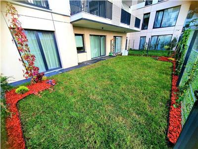 Apartament NOU 2 camere, 57mp cu gradina 60mp Marasti, zona Record Park