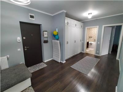 Apartament 3 camere ultrafinisat, mobilat, parcare subterana, bloc nou,  in spate la Vivo