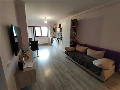 Apartament 3 camere mobilat modern , parcare, zona Stejarului