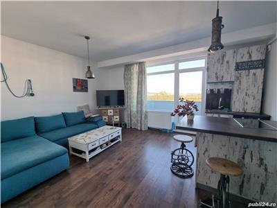 Apartament 2 camere 55mp, balcon 7mp, Sopor-Baza Sportiva