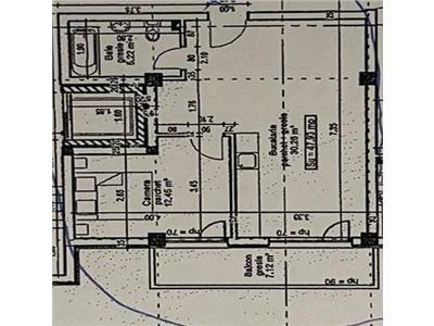 Apartament 2 camere semifinisat lift parcare zona Terra!