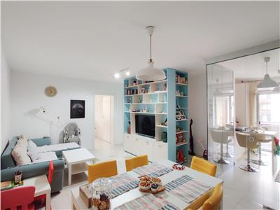 Apartament 3 camere, utilat mobilat, zona Tineretului