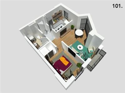 Apartament doua camere zona frumoasa